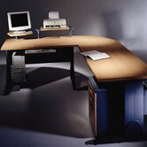 Sigma L-Shaped Computer Workstation