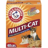 Multi-Cat Extra Strength Clumping Unscented Litter