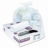 Heavy Grade Liners, 55 Gal, 13 Mic, 36 X 60, 8 Rolls Of 25 Bags, 200/Carton