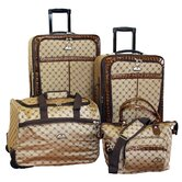 Signature Expandable 4 Piece Luggage Set