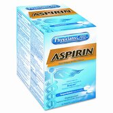 Physicians Care Aspirin Tablets, 50 Two-Packs per Box