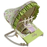 Lilac Garden Rocking Infant Seat