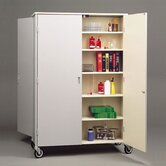 Double Sided Storage Cabinet
