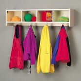 Koala-Tee Coat Rack with Cubbies