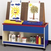 Koala-Tee Double Sided Rolling Art Cart