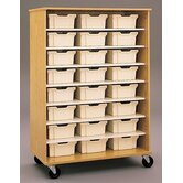 "68"" H Encore Double Sided Shelf Cabinet"