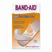 Antibiotic Adhesive Bandages, 20/Box