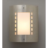 Paolo  Wall Sconce in Satin Nickel