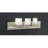 Wyndham  Vanity Light  in Satin Nickel