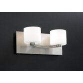 De Lion  Vanity Light  in Satin Nickel