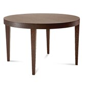 Modus-120 Extendible Round Dining Table in Wenge