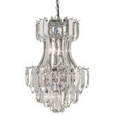 Sigma Clear Chandelier
