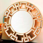 Zentro Round Wall Mirror