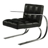 Nolan Leather Arm Chair