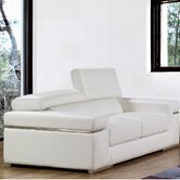 Emilia Leather Loveseat