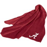 NCAA Fleece Throw - LSU