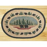 Wilderness Bear Novelty Rug