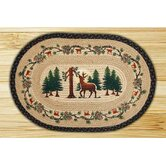 Deer Woods Novelty Rug