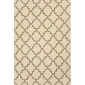Hooked Plain Tin Ivory Rug