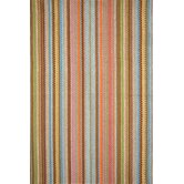 Woven Zanzibar Ticking Rug