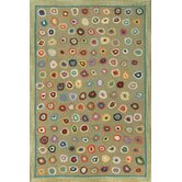 Hooked Cats Paw Sage Micro Rug