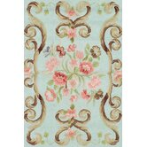 Hooked Siena Mist Rug