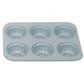 Non-Stick 6 Cup Fluted Muffin Pan