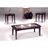 Hazelwood Home 3 Piece Coffee Table Set