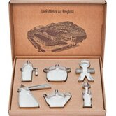 Progiotti 6 Piece Cookie Cutter