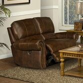 Motion Thor Leather Reclining Loveseat