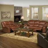 Motion Hercules Leather Dual Recliner Living Room Collection