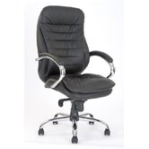 High Back Executive Chair with Stylish Stitching Detail