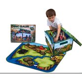 Dinosaur Collector Toy Box & Playset