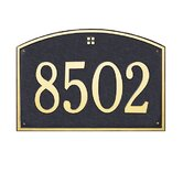 Cape Charles Estate Wall Address Plaque