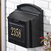 Wall Mounted Locking Mailbox