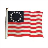 "30"" Liberty Flag Weathervane"