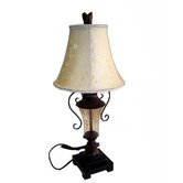 "27.75"" Tall Table Lamp with Shade in Tuscan Brown"