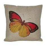 Butterfly Linen Pillow