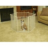Convertible Pet Yard Exercise Pen