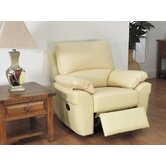 Monzano Recliner in Ivory