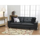 Gemona Sofa Bed in Black