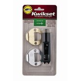 Prestige Mobile Home Interior Deadbolt Conversion Kit in Polished Brass