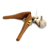 EcoTeak  Garlic Press in Lacquer