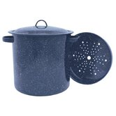 Graniteware 15.5-qt. Stock Pot with Lid