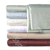 Supreme Sateen 500 Thread Count Scroll Sheet Set