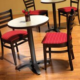 Zeus 24&quot; Round Table Set