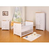 Three Bears 3 Piece Nursery Set in White