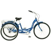 "Meridian 26"" Single Speed Tricycle"