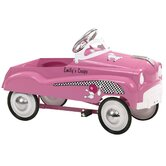 Pink Lady Pedal Car