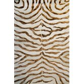 Earth Soft Zebra Brown Rug